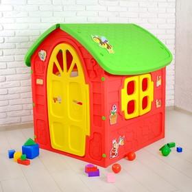 Детский игровой домик, цвет красный Ош