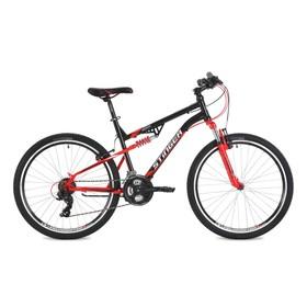 """Велосипед 26"""" Stinger Discovery, 2018, цвет черный, размер 16"""""""