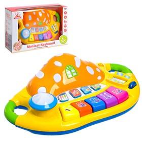 Музыкальная игрушка-ионика «Мухомор», световые и звуковые эффекты