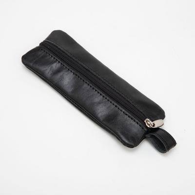 Ключница, отдел на молнии, металлическое кольцо, одёжная чёрный