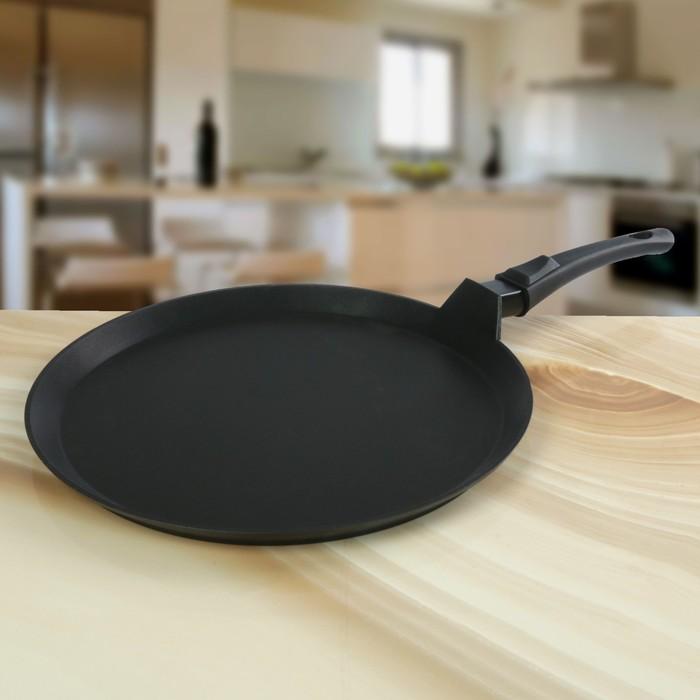 """Сковорода-лавашница 35 см """"Традиция"""", съёмная ручка"""