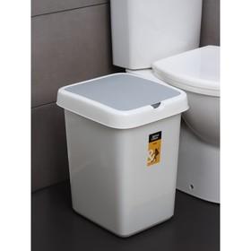 Контейнер для мусора Svip «Квадра», 25 л, цвет МИКС