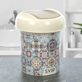Контейнер для мусора Svip «Декор. Марокко», 1 л