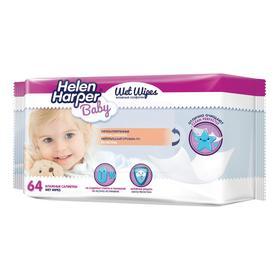 Детские влажные салфетки Helen Harper Baby, 64 шт.