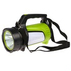 Manual rechargeable flashlight, 7 modes 600 lumens, charging from the network, 15h20.5 cm