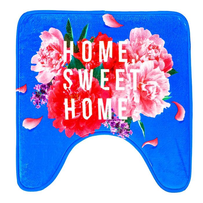 "Коврик в ванную комнату ""Home sweet home"""