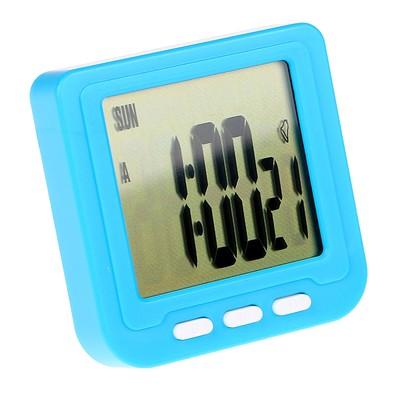 Часы-будильник электронные, микс, 6х6х1.5 см