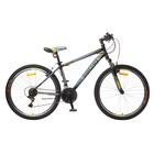 """Велосипед 26"""" Десна-2610 V, V010, цвет чёрный/серый, размер 18"""""""