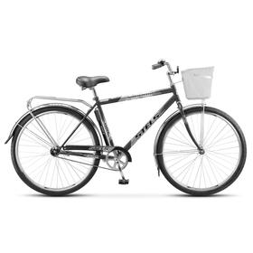 "Велосипед 28"" Stels Navigator-300 Gent, Z010, цвет серый, размер 20"""
