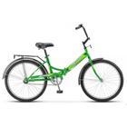 """Велосипед 24"""" Десна-2500, Z010, цвет зелёный, размер 14"""""""