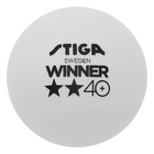 Мяч для настольного тенниса Stiga Winner ABS 2**,арт.1112-2310-06, упак. 6 шт