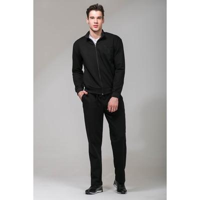 Костюм спортивный мужской MINAKU, размер 48, цвет чёрный