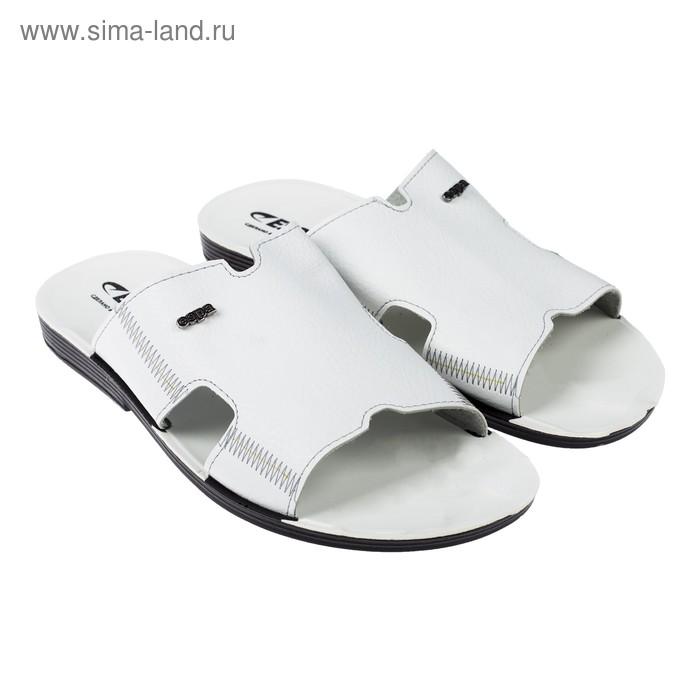 Туфли летние открытые  мужские арт. EPM20210-02 (белый) (р.44)