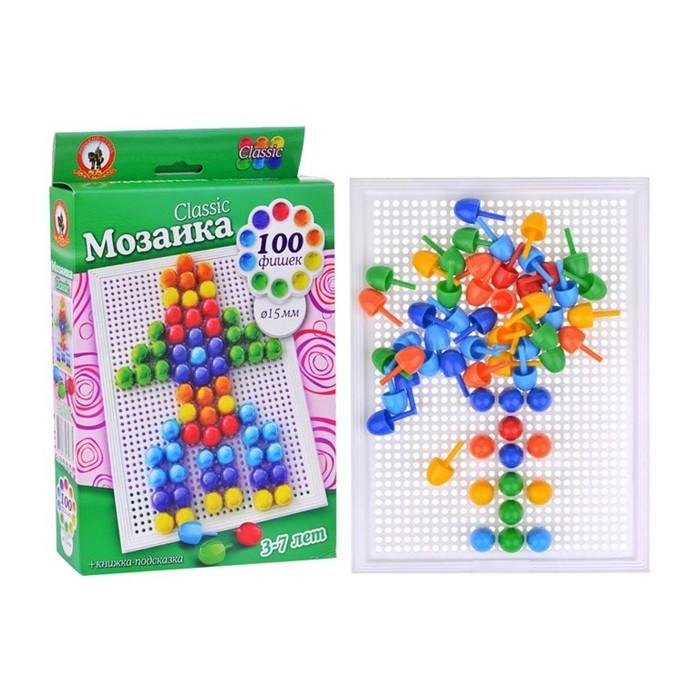 Мозаика настольная Classic, 100 элементов