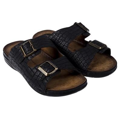 Туфли летние открытые мужские арт. LAM20342-01, цвет серый, размер 44