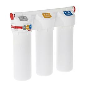 """Водоочиститель Prio """"Новая Вода"""" Praktic EU300, фильтр-система """"под мойкой"""", с краном"""