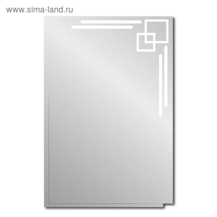 """Зеркало """"Хайтек"""" 600х500 мм."""