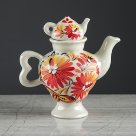 """Чайник заварочный """"Самовар"""", малый, осень, 0,1 л"""