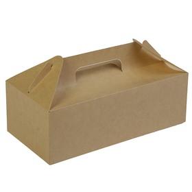 Коробка с ручками, 28,8 х 14,2 х 9,8 см