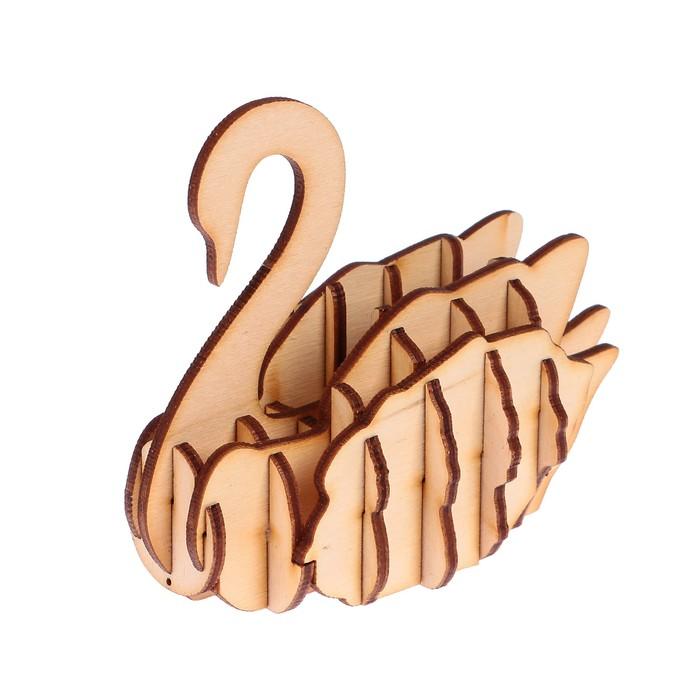 Лебедь из фанеры шаблоны