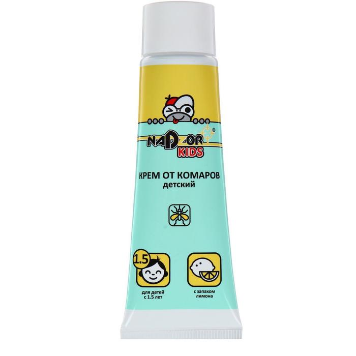 Крем от комаров для детей Nadzor,  30 г