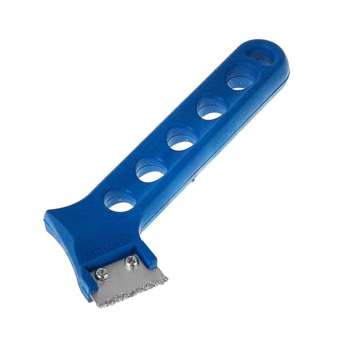 Скребок Kubala, 30 мм, вольфрамовое лезвие, ручка пластик, для зачистки швов