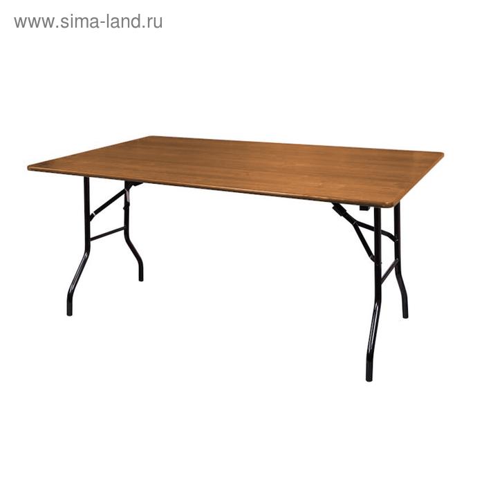 """Складной стол """"Лидер 2"""", 2700х900 мм, ножки чёрные, столешница вишня"""