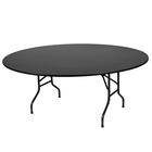 """Складной стол """"Лидер 3"""", диаметр 1500 мм, ножки чёрные, столешница венге"""