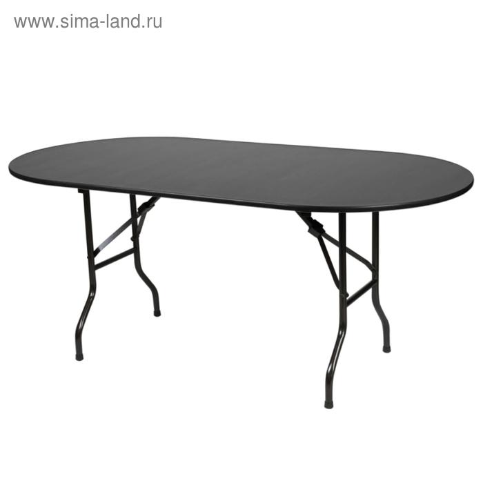 """Складной стол """"Лидер 5"""", 1800х800 мм, ножки чёрные, столешница венге"""