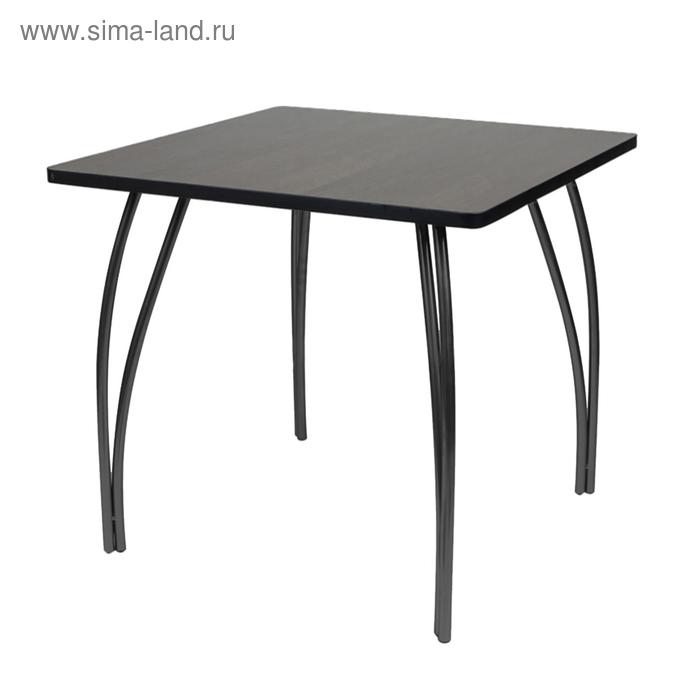 """Стол """"Лидер 23"""", 1200х800 мм, ножки чёрные, столешница венге"""