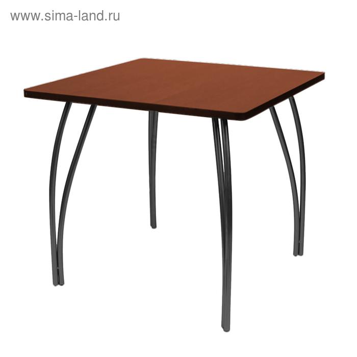 """Стол """"Лидер 23"""", 1500х750 мм, ножки чёрные, столешница орех"""