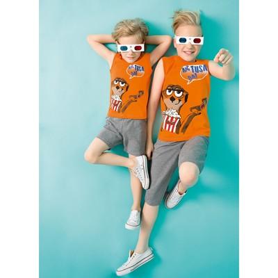 Комплект для мальчика, рост 116 см, цвет оранжевый BFAVB4066
