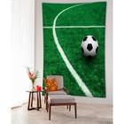 Фотопанно вертикальное «На поле», размер 100x150 см