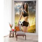 Фотопанно вертикальное «Болеем за спорт», размер 100x150 см