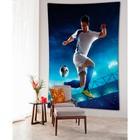 Фотопанно вертикальное «Футболист», размер 100x150 см