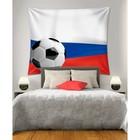 Фотопанно горизонтальное «Российский футбол», размер 100x150 см