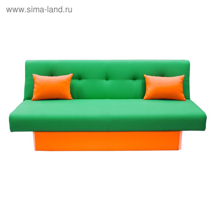 Диван «Манго 4», обивка зелёная