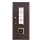 Дверь входная 8 см Венеция Беленый дуб 2050x860 (левая)