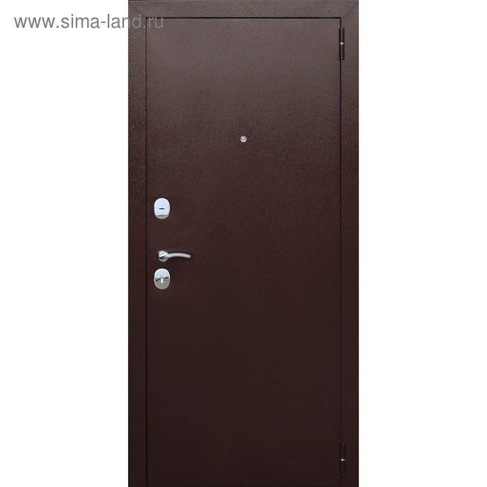 Дверь входная 8 cм Гарда Венге 2050x960 (правая)