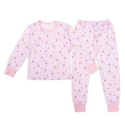 Пижама для девочки Мишки Sweet Baby, рост 92 см, цвет розовый