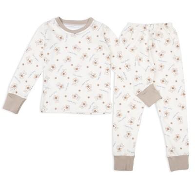 Пижама для девочки Мишки Sweet Baby, рост 92 см, цвет бежевый