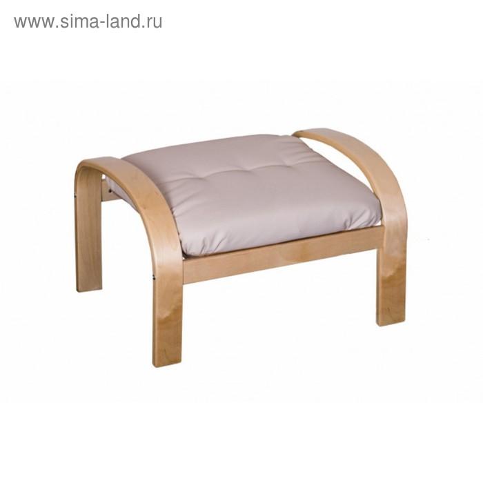 """Подушка-сиденье для пуфа """"Сайма"""", цвет бежевый"""
