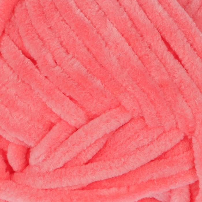 Пряжа Dolphin Baby, 100 % полиэстер, 120 м, 100 г (80332, цвет розовый) - фото 797967894