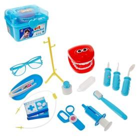 """Набор стоматолога """"Лечим зубки"""" в чемодане"""