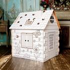 Домик-раскраска из картона Colouring play-house