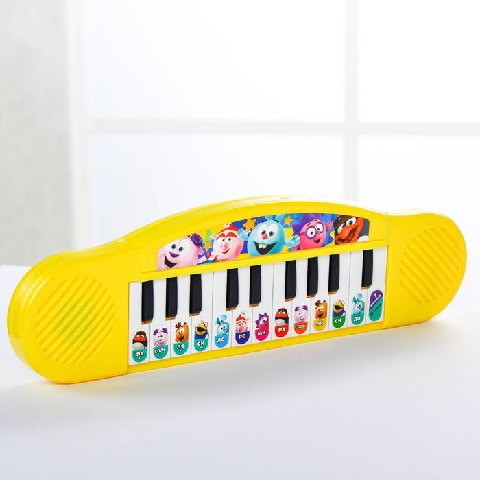 Синтезатор, СМЕШАРИКИ, 13 клавиш, 7 мелодий