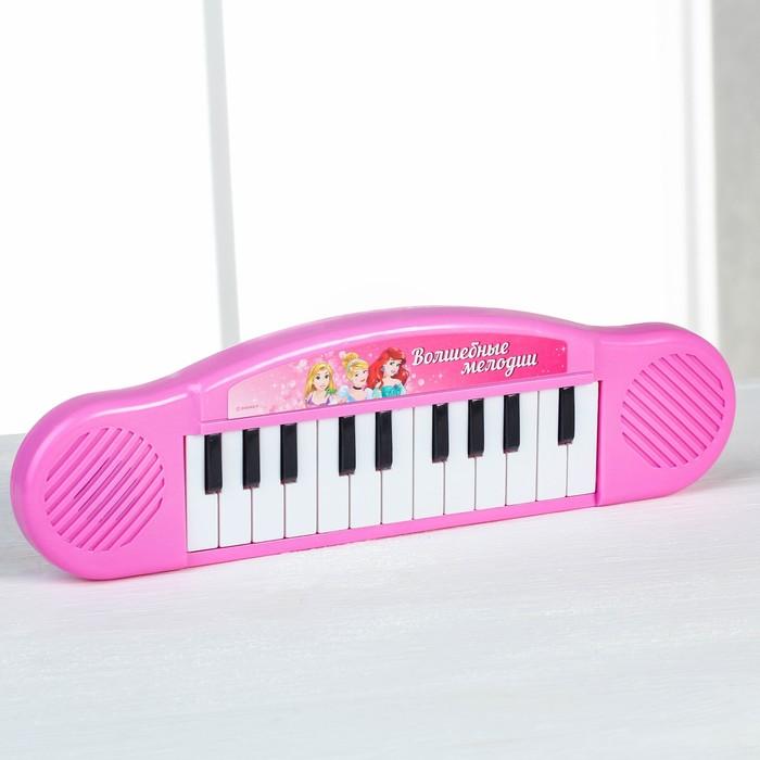 """Синтезатор """"Волшебные мелодии"""", Принцессы, 7 мелодий - фото 687093391"""