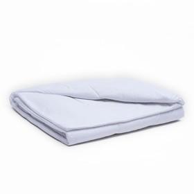 Одеяло, размер 110х140 см, цвет белый, синтепон Ош