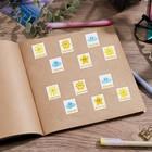 Наклейки оценки «Погода», 10,5 х 18 см