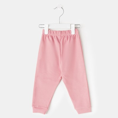 Штаны детские рост 86, цвет розовый ш041(86)р1_М
